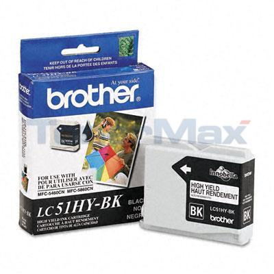 BROTHER DCP-130C INK CARTRIDGE BLACK HY